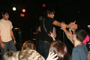 16 year old me on stage.
